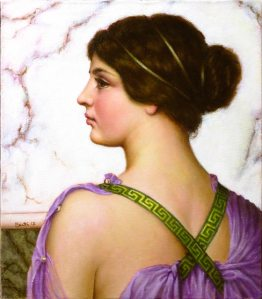 Ritratto in viola - A Grecian Lovely