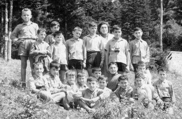Lorenzago di Cadore (BL) - Colonia montana (1956)