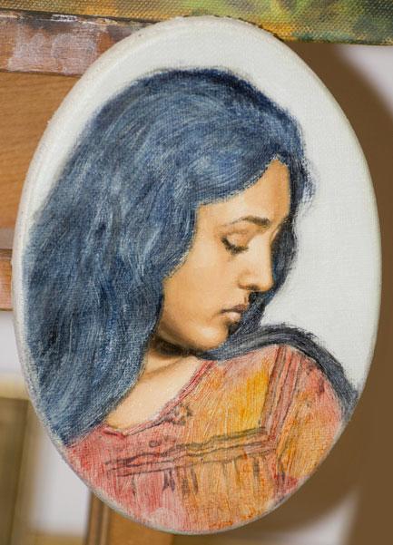 Ritratto di donna - colore