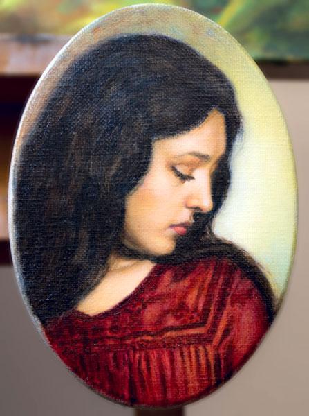 Ritratto di donna - terminato