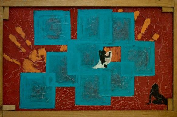 Il mio primo dipinto ad olio  :'(