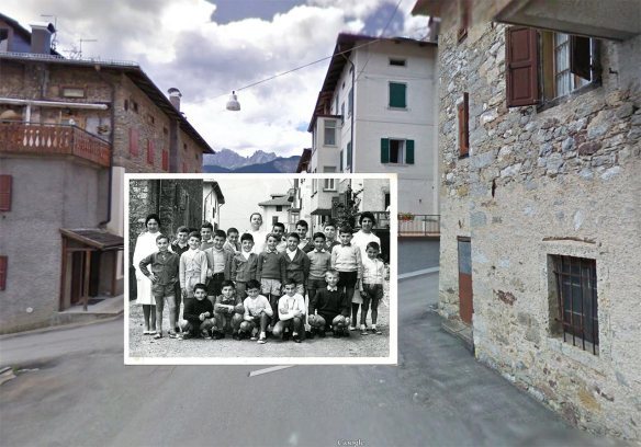 Lorenzago di Cadore (BL) Colonia montana - 1958